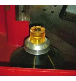 Apoyo de goma cap.de Ø12,00 a 66,00mm para WR120 (Set de 5 unidades)