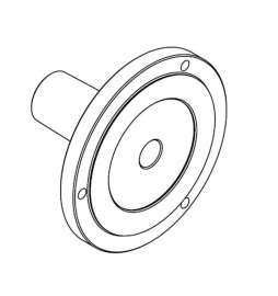 Brida de soporte para mandril PV0030 para RC 850, TR 505-1000-1500