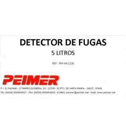 Detector de Fugas (vol.5 litros)
