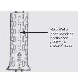 Porta Husillo Pneumático (500 rpm)