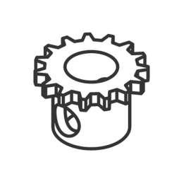 Engranaje para el Mangón en COLMER350S/SC/M/MC