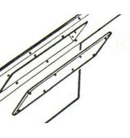 Pantalla de protección Blanca para el Neón de S.100 y S.4.0