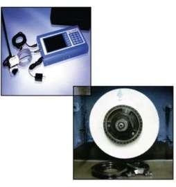 Equilibrador estático PERFECT para controlar y equilibrar el plato porta muelas