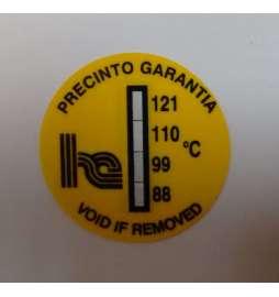 Fusibles de temperatura 88-121º (pegatina)