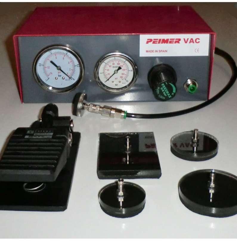 Vacuómetro Neumático PEIMER mod.VAC140STD