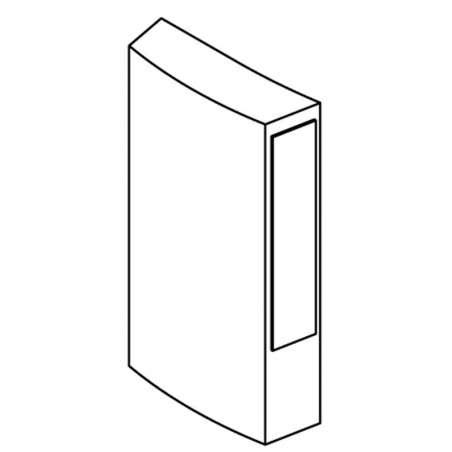 Segmentos 50x16x90 mm.Set de 10 pcs.,para RP 1000 (hasta 03/2011),  RP 900,RTV 594 el cabezal monta 6 pcs., para Fundición