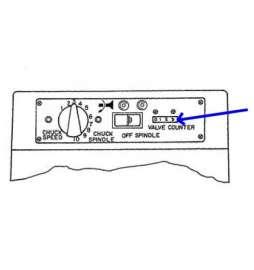 Contador de válvulas para Rectificadora de Válvulas KWIK WAY mod.SVSII de Luxe