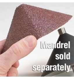 Abrasivo cónico para biselar 45º