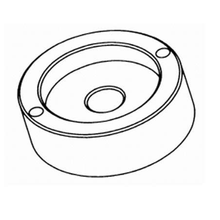 Util extractor del plato portamuelas solo para MGM1400 y MGM1000