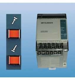 Control en Panel del ajuste del mov.Transversal PERFECT para PFG-3060/4080/4090